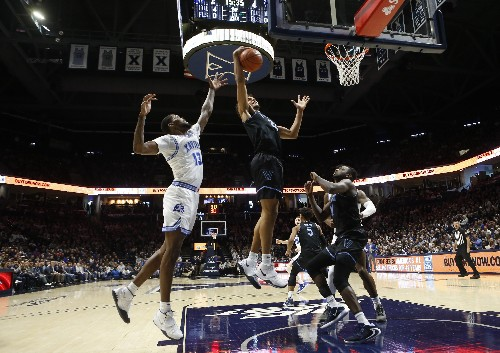Bey, Samuels propel No. 12 Villanova past Xavier