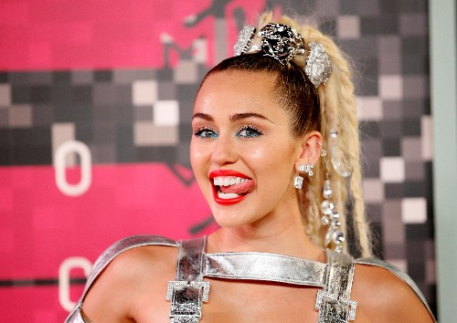 No more weed or nipple pasties as Miley Cyrus debuts new image