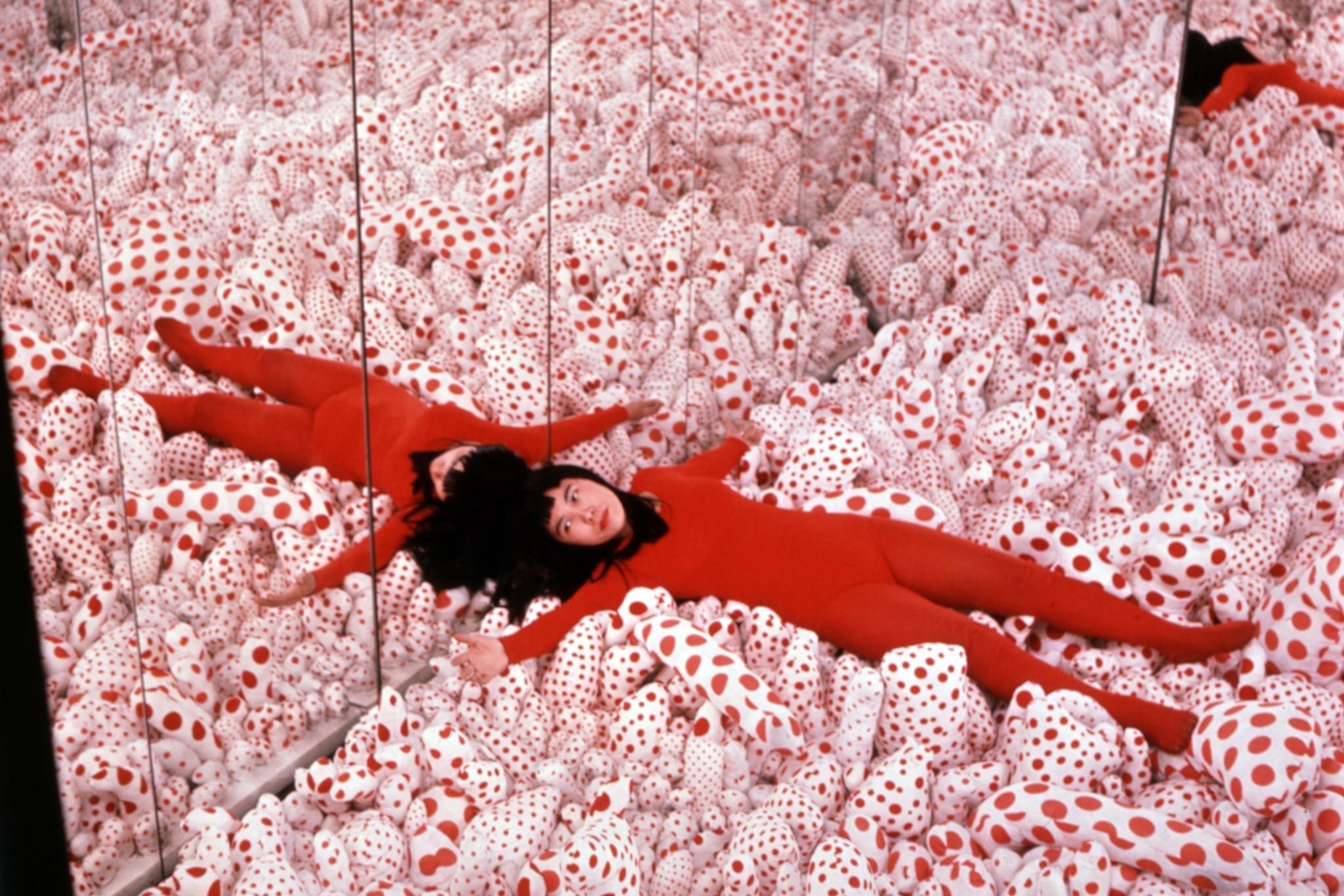 'Priestess Of Polka Dots' Yayoi Kusama Gives Gallerygoers A Taste Of Infinity