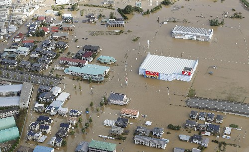 The Latest: Typhoon leaves 19 dead, 16 missing in Japan