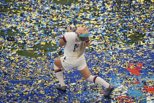 U.S. Wins World Cup: Pictures