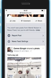 Facebook Has A New Tool For Tweaking Your News Feed