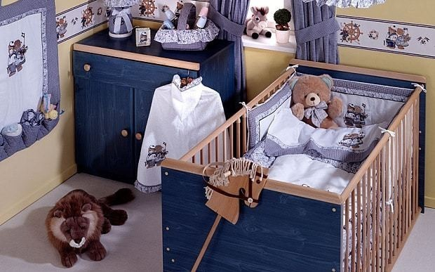Why decorating the nursery could put babies at risk