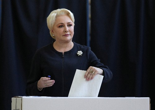 Romanian PM Dancila gets party nod to run for president