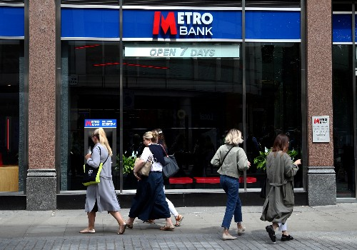 Britain's Metro Bank hires lawyers over Cuba and Iran sanctions breaches