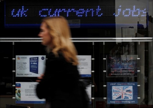 UK jobs boom returns as Bank of England considers rate cut