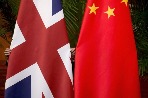 China warns Britain ties at risk after warship mission