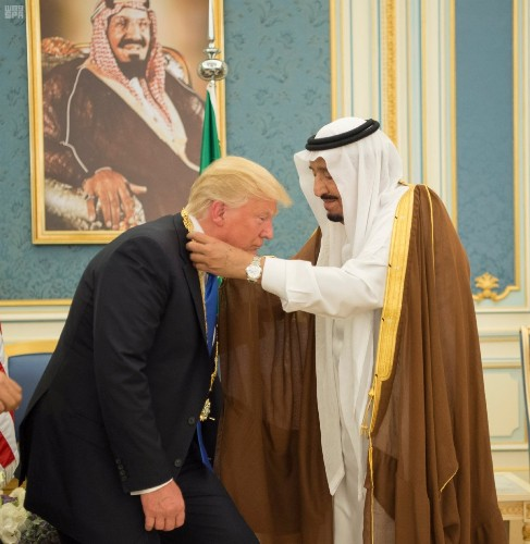 Trump's First Day in Saudi Arabia: Pictures