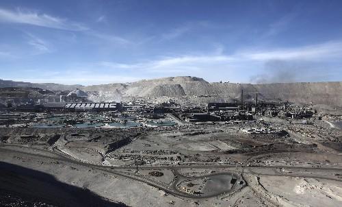 Chile's Chuquicamata copper mine operations halved amid strike: Codelco
