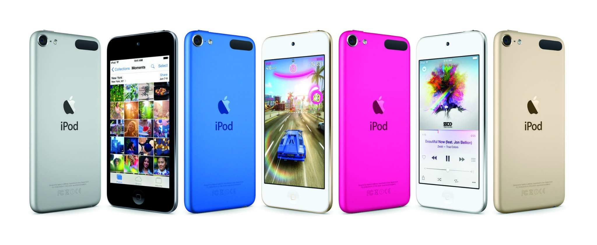 Apple releases new, faster, iPod touch with 8MP camera and 128 GB option, new Nano/Shuffle colors