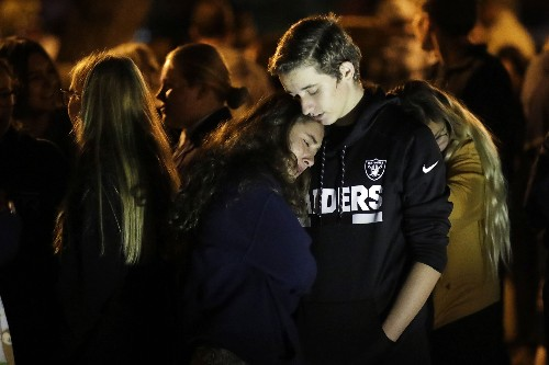 At least 3 hurt in California school shooting, gunman sought