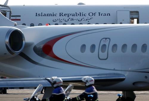 Iran's Zarif arrives for G7 side talks, White House says surprised