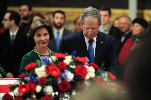 Last salute: A guide to George HW Bush's funeral