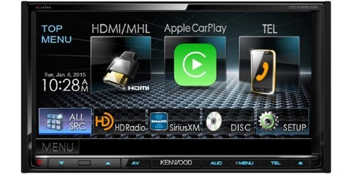 CES 2015: Kenwood and Pioneer Announce Aftermarket Receivers With CarPlay Integration