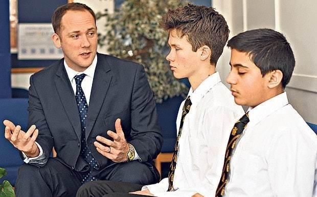 Present, sir: benefits of a mindful classroom
