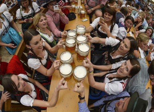 The 182nd Oktoberfest Opens in Munich, Germany: Pictures
