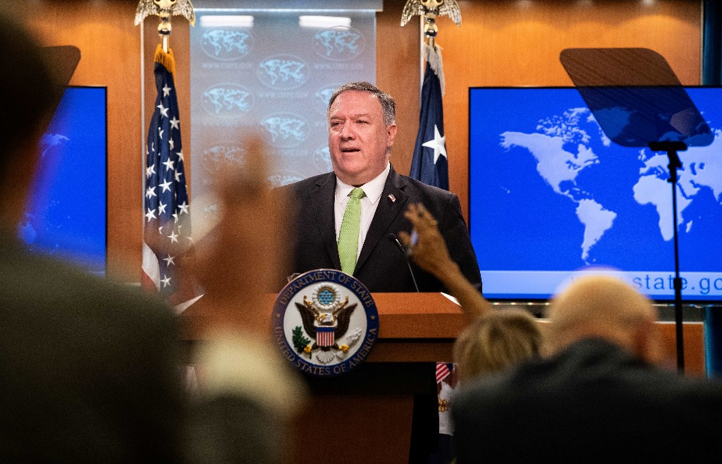 Pompeo accuses top Democrat of 'hackery' over government watchdog review