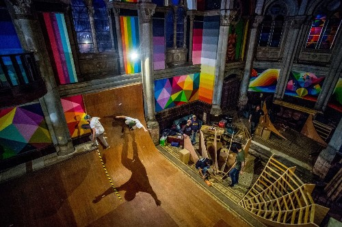 The Selects: Skateboarding in Church