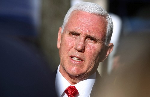 After Venezuela violence, Pence to meet with Guaido in Colombia