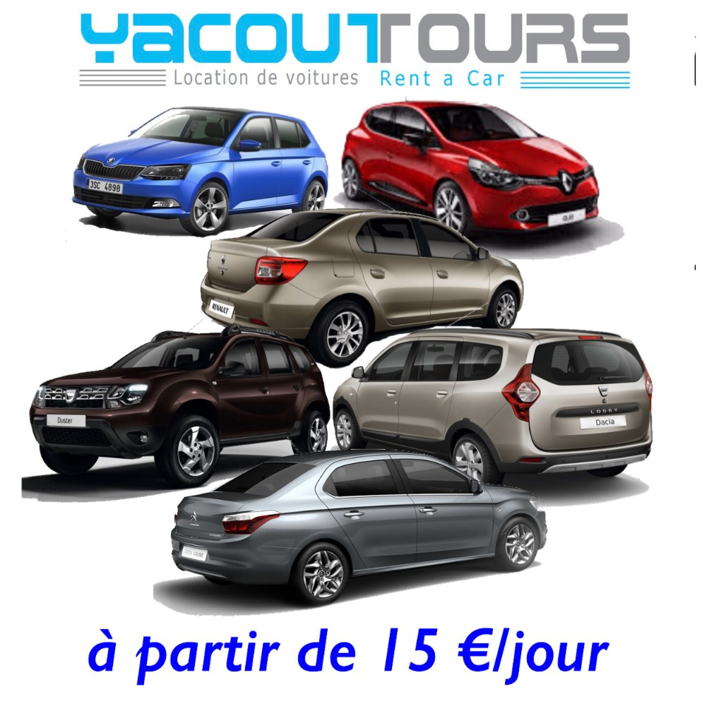 location voiture marrakech - Magazine cover