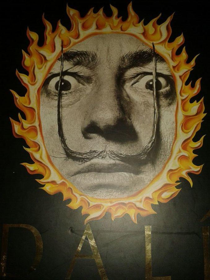 Salvador Dali.  1904- 1989. - Magazine cover
