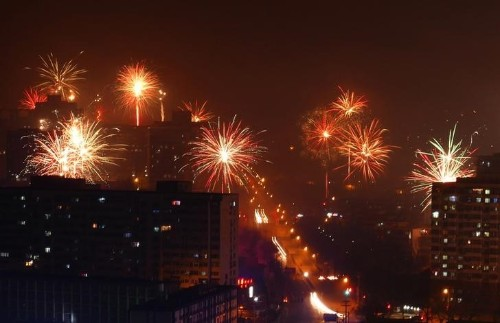 Chinese New Year fireworks spark a return to hazardous Beijing pollution