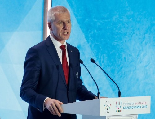 Russia names new sports minister in government reshuffle