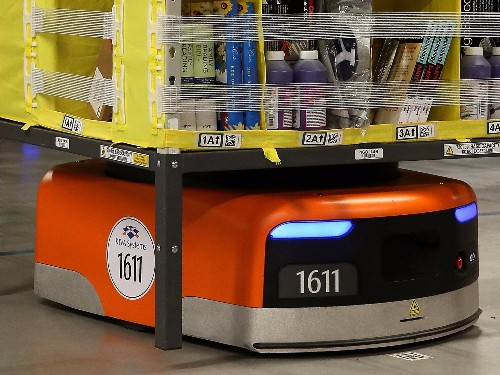 Amazon is now using a whole lot more of the robots from the company it bought for $775 million