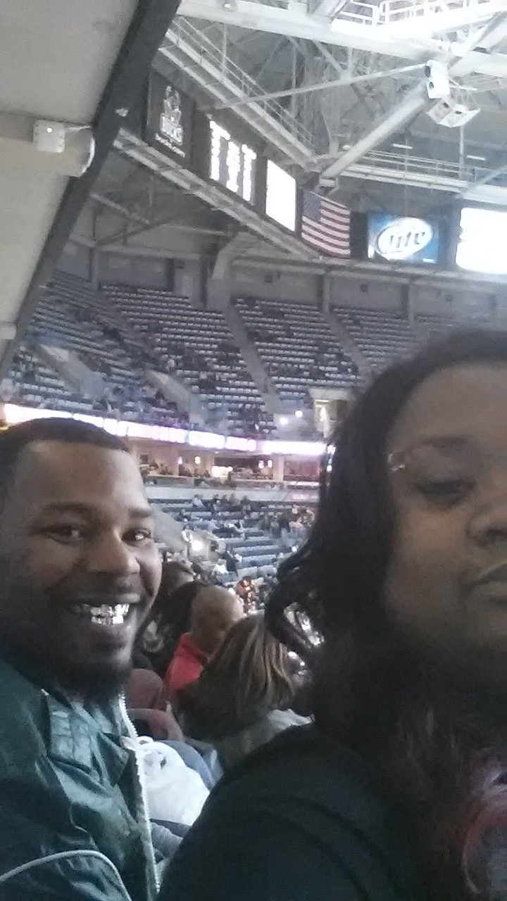 Me and THe wife enjoy the buck games