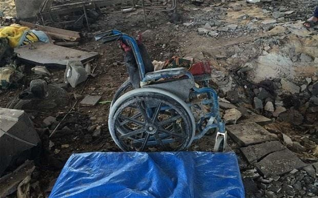 Israel kills two handicapped Palestinian women in air strike on home for disabled