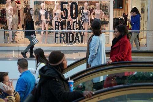 Black Friday shoppers stay away from stores, make $7 billion-plus splurge online