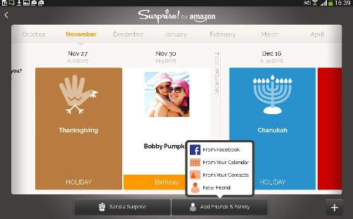 Amazon Launches Surprise!, A Facebook-Powered App For Sending Personalized E-Cards