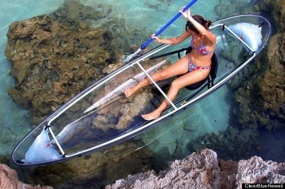 The Molokini, A Transparent Ocean Kayak So Genius, We Wish We'd Thought Of It