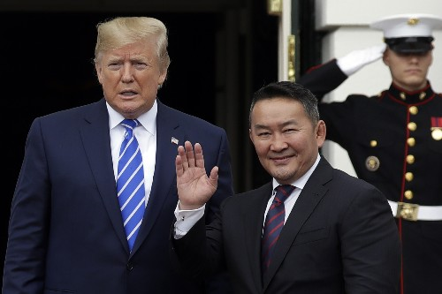 Barron Trump is latest to get gift horse from Mongolia