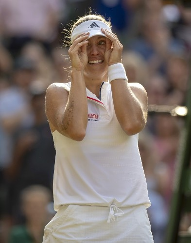Kerber Dominates Serena and Wins Wimbledon: Pictures