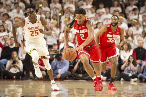 No. 24 Maryland holds off shorthanded Ohio State