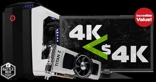 Nvidia Titan Z-Powered 4K Gaming Just Got Surprisingly Affordable