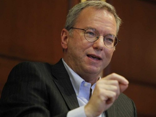 Google Chairman Eric Schmidt Thinks Apple CEO Tim Cook Has It All Wrong About Privacy