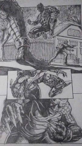 Insane comics - cover