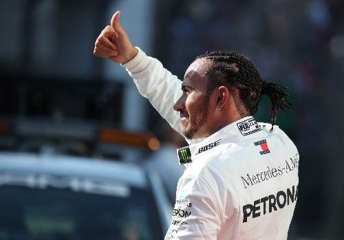 Arise Sir Lewis? Hamilton says he's not expecting knighthood