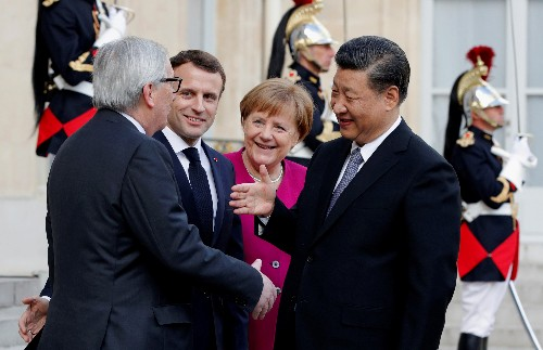 Xi says cooperation is mainstream in China-Europe ties