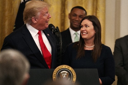 Sarah Sanders leaving White House job; governor run ahead?