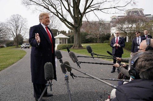 Trump says he does not mind if public sees Mueller's Russia probe report