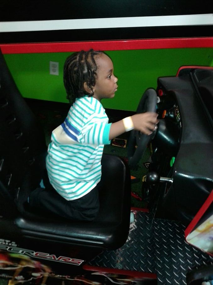 He ready to ride