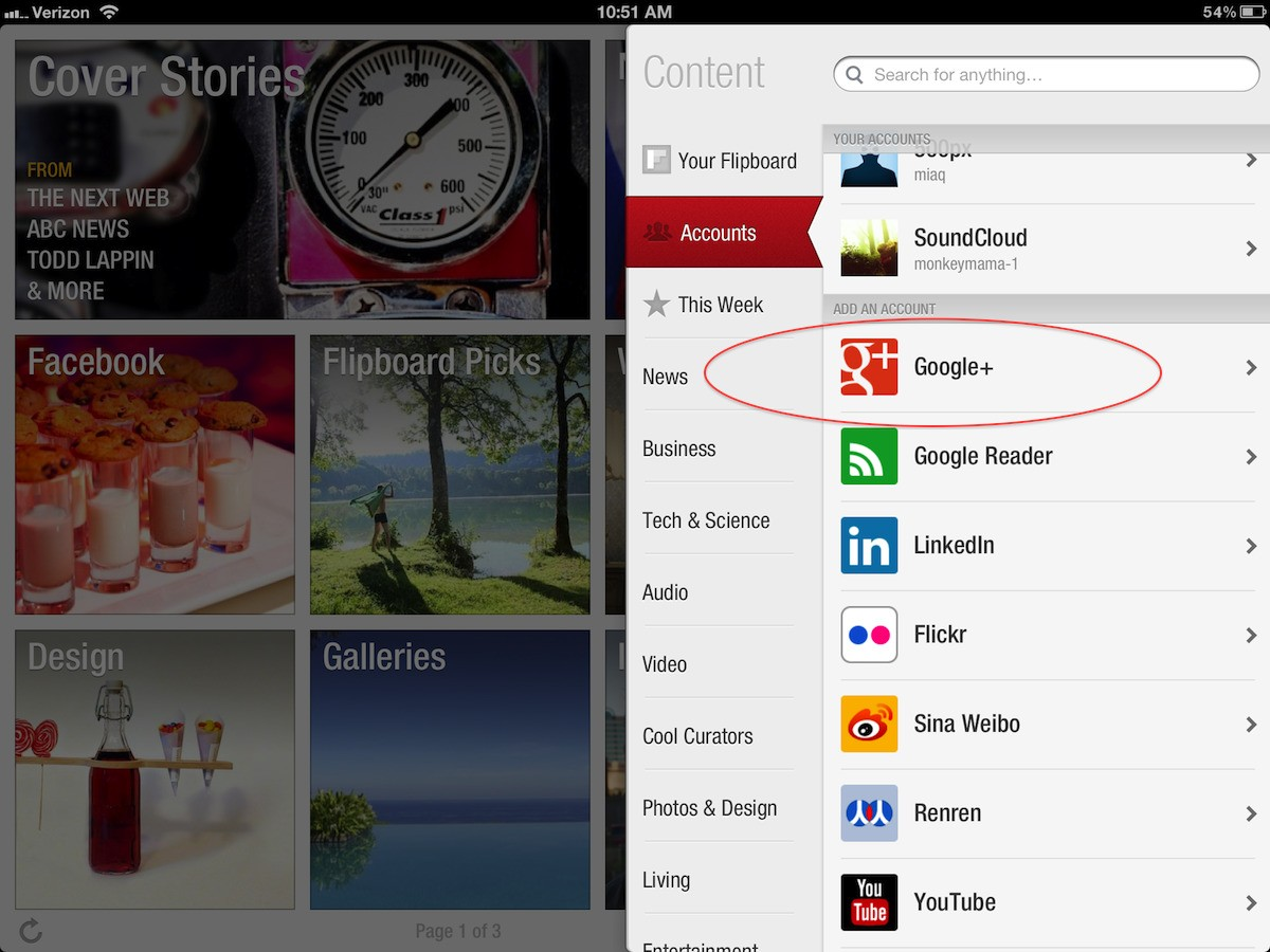 Everything You Wanted to Know About Google+ on Flipboard