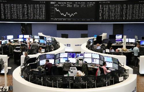 Акции Европы снижаются из-за низкого аппетита инвесторов к риску