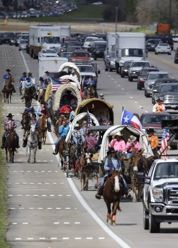 The Annual Sam Houston Trail Ride: Pictures