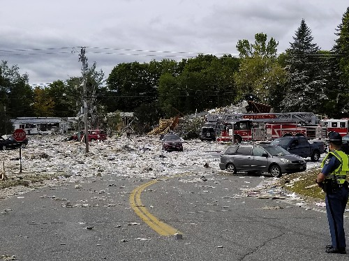 Propane blast kills firefighter, injures his brother, others
