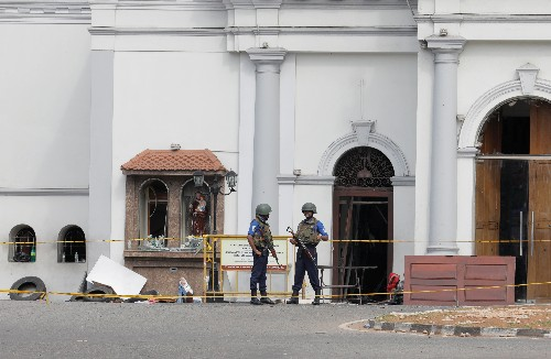 Sri Lanka detains Syrian for questioning over attacks - sources