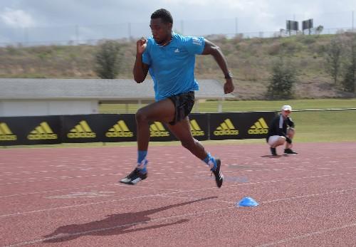 Athletics: Lyles drops plans for 100m bid at world championships
